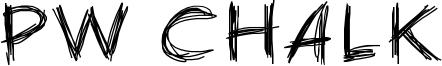 PW Chalk Font