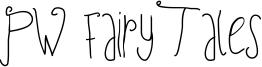 PW Fairy Tales Font