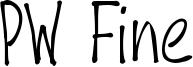 PW Fine Font