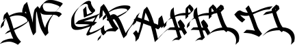 PW Graffiti Font