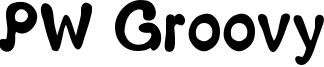PW Groovy Font