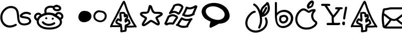 PW Handy Social Icons Font