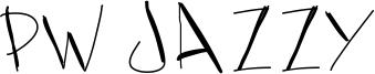 PW Jazzy Font