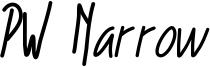 PW Narrow Font