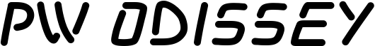 PW Odissey Font