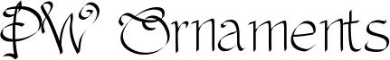 PW Ornaments Font