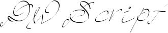 PW Script Font