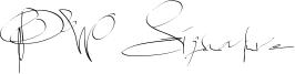 PW Signature Font
