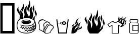 Pyrobats Font