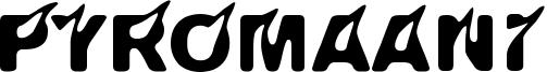 Pyromaani Font