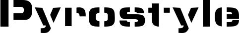 Pyrostyle Font