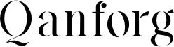 Qanforg Font