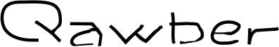 Qawber Font