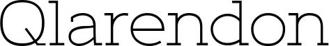 Qlarendon Font