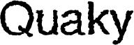 QuakyLight.ttf
