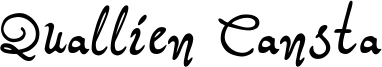Quallien Cansta Font