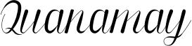 Quanamay Font