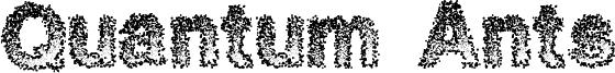 Quantum Ants Font