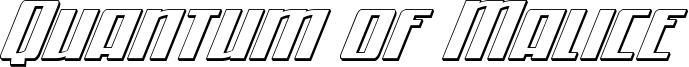 quantummalice3dital.ttf