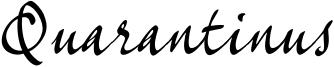 Quarantinus Font