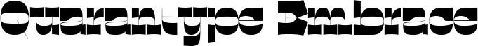 Quarantype Embrace Font