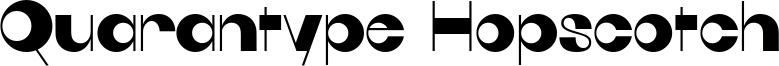 Quarantype Hopscotch Font