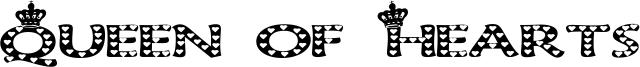 Queen of Hearts Font