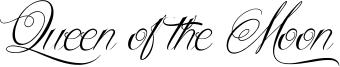 Queen of the Moon Font