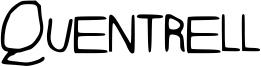 Quentrell Font
