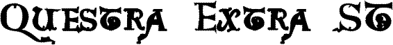Questra Extra ST Font