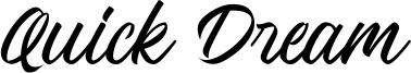 Quick Dream Font