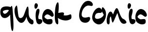 Quick Comic Font