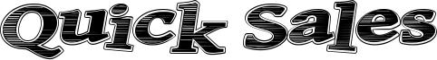Quick Sales Font