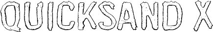 Quicksand X Font