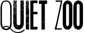 Quiet Zoo Font