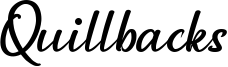 Quillbacks Font