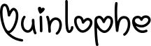 Quinlophe Font