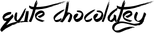 Quite Chocolatey Font