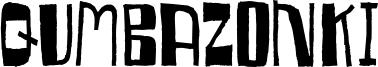 Qumbazonki Font