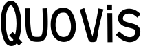 Quovis Font