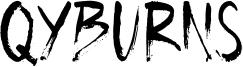 Qyburns Font