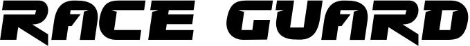 Race Guard Font