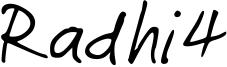 Radhi4 Font