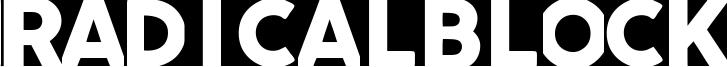Radicalblock Font