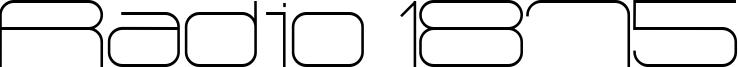 Radio 1875 Font