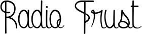 Radio Trust Font