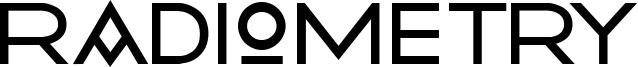 Radiometry Font