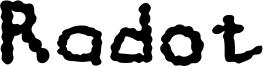 Radot Font