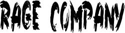Rage Company Font