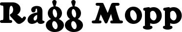 Ragg Mopp Font